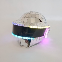 Led mirror thomas helmet