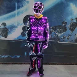 Led light dance clothes