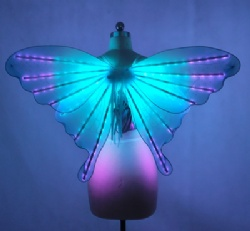Led light adult butteryfly wings performance