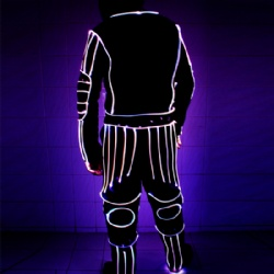 Led light up tron costume